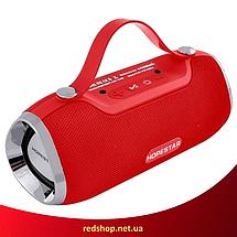 Портативная Bluetooth колонка Hopestar H40 - мощная акустическая стерео блютуз колонка Красная (R84), фото 3