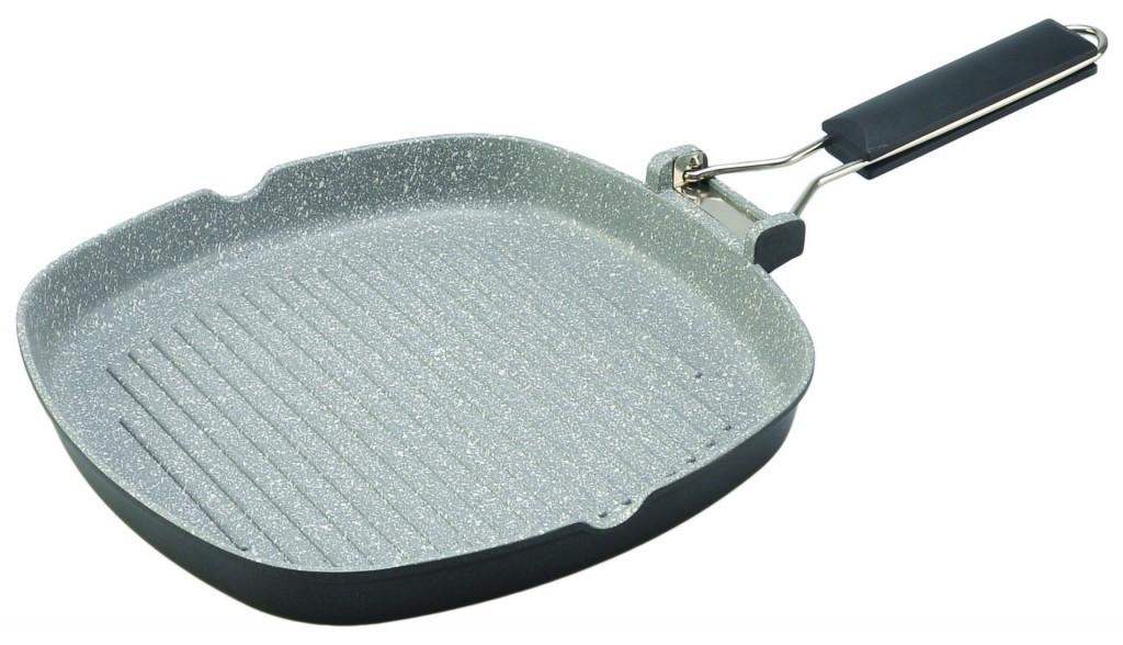 Сковорода-гриль Con Brio CB-2003 20х20 см