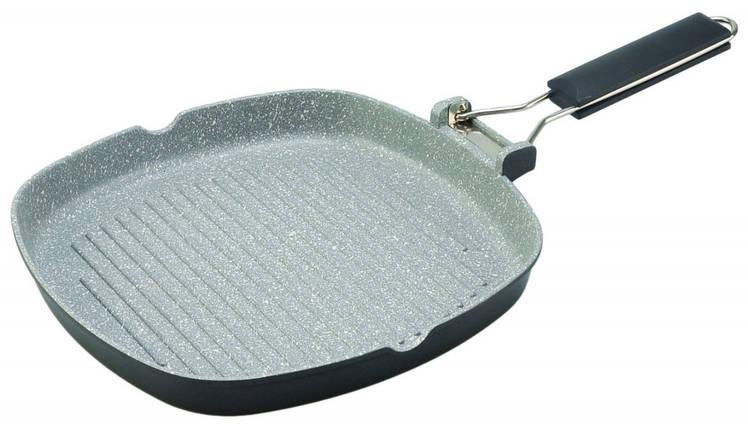 Сковорода-гриль Con Brio CB-2003 20х20 см, фото 2