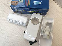 Автоматический дозатор для зубной пасты, подставка для щеток, фото 3
