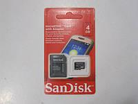 SD карта 4 Gb + card reader