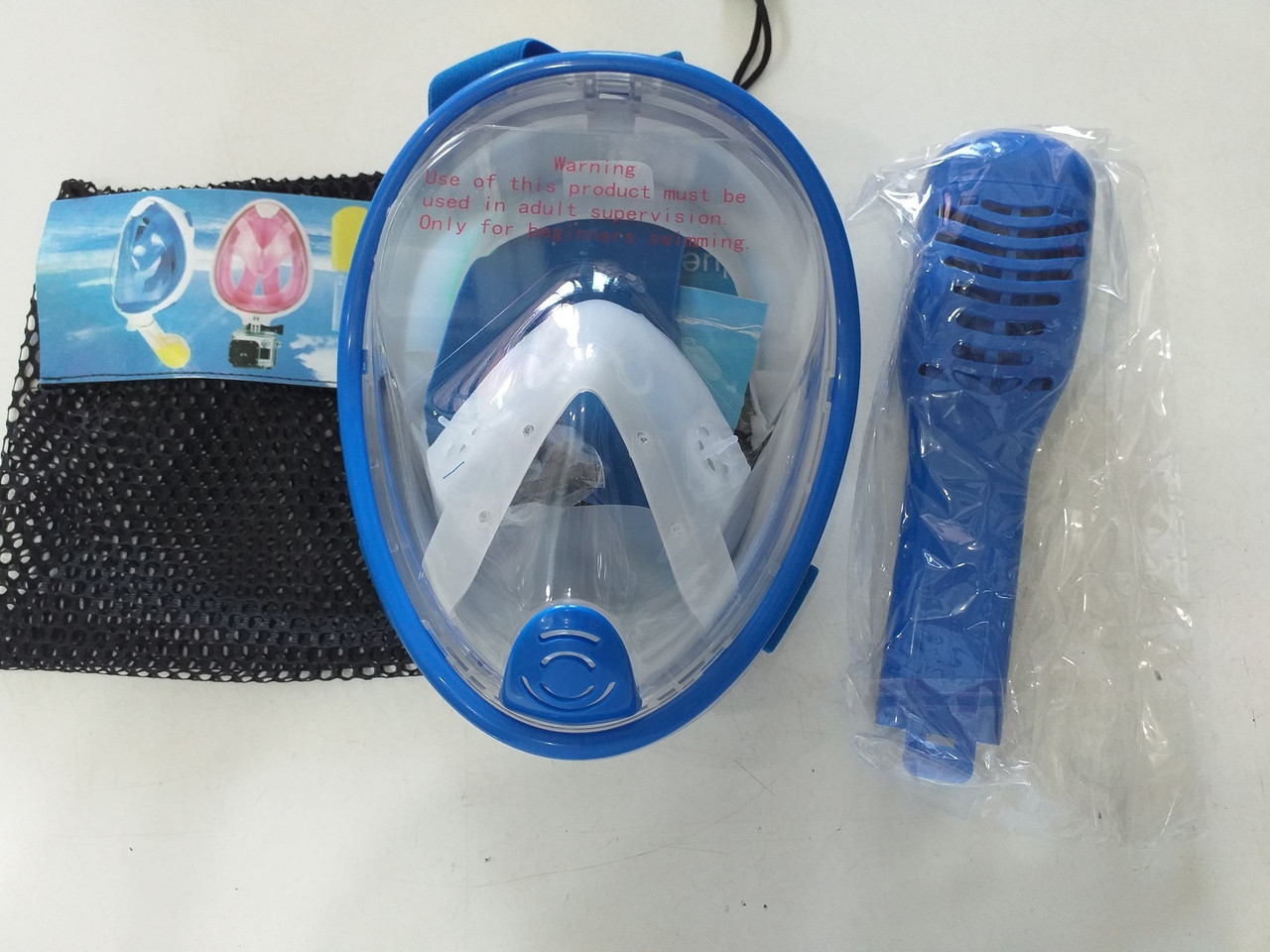 F115-2068 маска для плавания