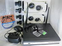 Система видеонаблюдения NVR WI FI 4 камеры