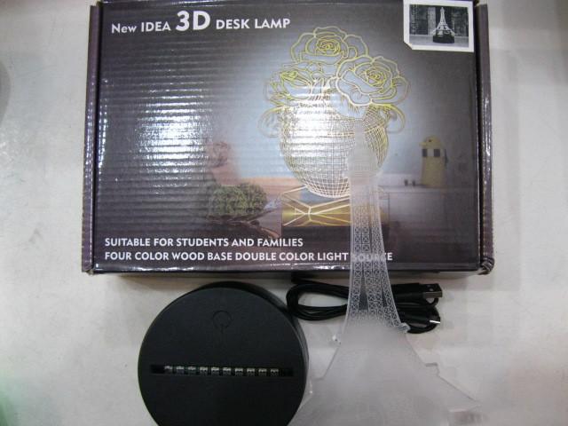 3D лампа-ночник