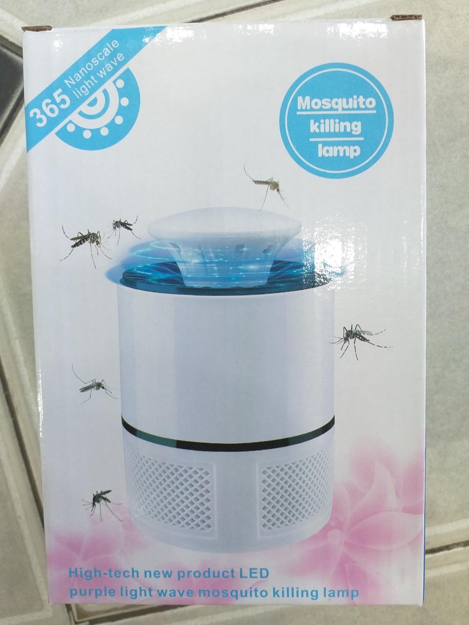 Лампа ловушка для комаров уничтожитель насекомых 5 Вт USB Mosquito Killer 365
