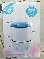 Лампа ловушка для комаров уничтожитель насекомых 5 Вт USB Mosquito Killer 365, фото 1