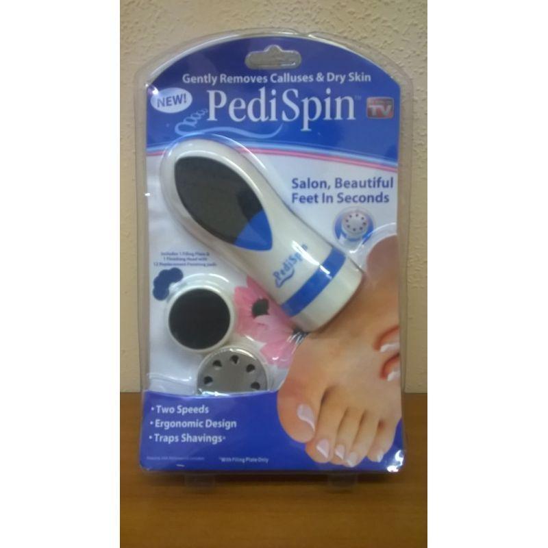 Электрическая пемза для педикюра Pedi Spin