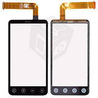 Touchscreen (сенсорный экран) для HTC EVO 3D X515m G17, черный, оригинал