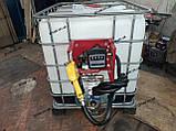 Міні АЗС для дизеля 12V або 24V Єврокуб. 40л\хв з фільтром, фото 3