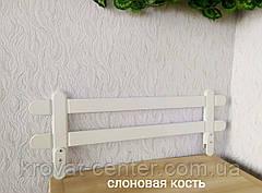 """Белый защитный бортик для детской кровати """"Масу Мини"""" (цвет на выбор) 80 см., фото 3"""