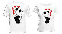 """Парные футболки """"Панды - 2"""", фото 1"""