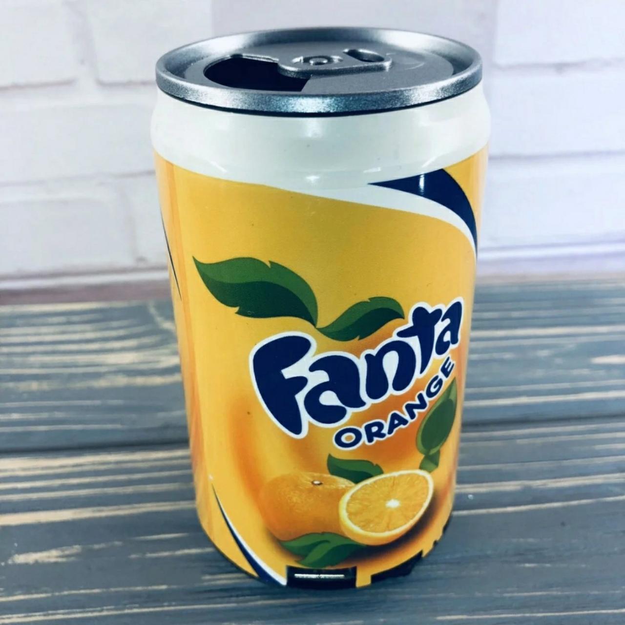Портативная колонка в форме банке ( Pepsi, Coca-Cola, Fanta)