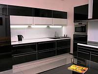 Кухни МДФ покраска в стиле хай-тек