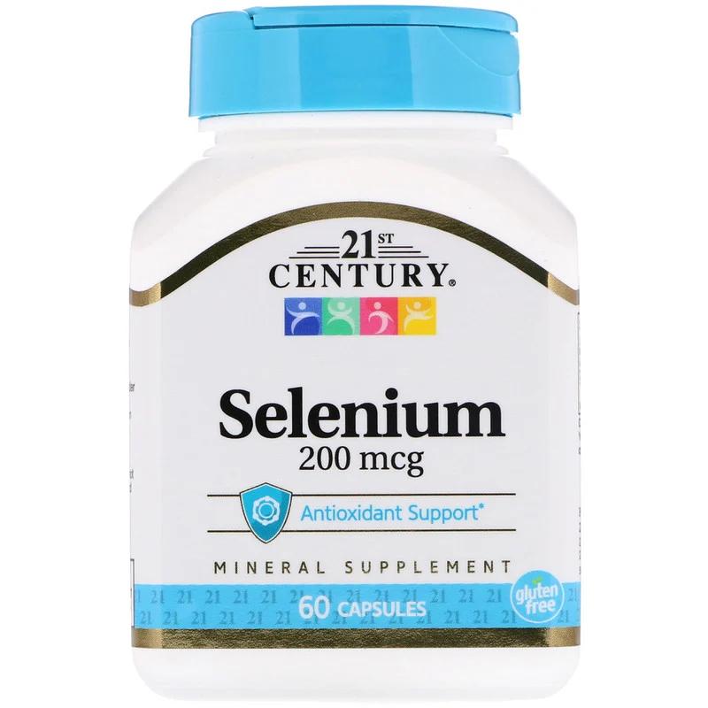 Selenium 200 мкг 21st Century 60 капсул