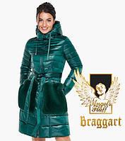 Воздуховик Braggart Angel's Fluff 31845   Весенне-осенняя женская куртка изумрудная