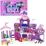 Замок ляльковий з меблями ляльками і каретою Спляча красуня, фото 2
