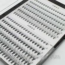 Вії, пучки 10d і 20d 6-12мм Мікс З-Curl (240шт)