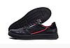Чоловічі шкіряні кеди Adidas Stan Smith black чорні