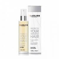 Кератиновий спрей-блиск для волосся Luxliss Keratin Heat Protecting Shine Mist 50 мл