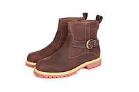 Ботинки Timberland обувь  светло-коричневые