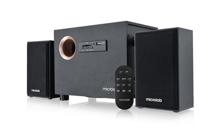 Акустична система Microlab M-105R Black + ДУ