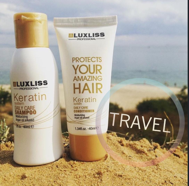 Luxliss Keratin Travel Kit (бальзам 40 мл + шампунь 60 мл)