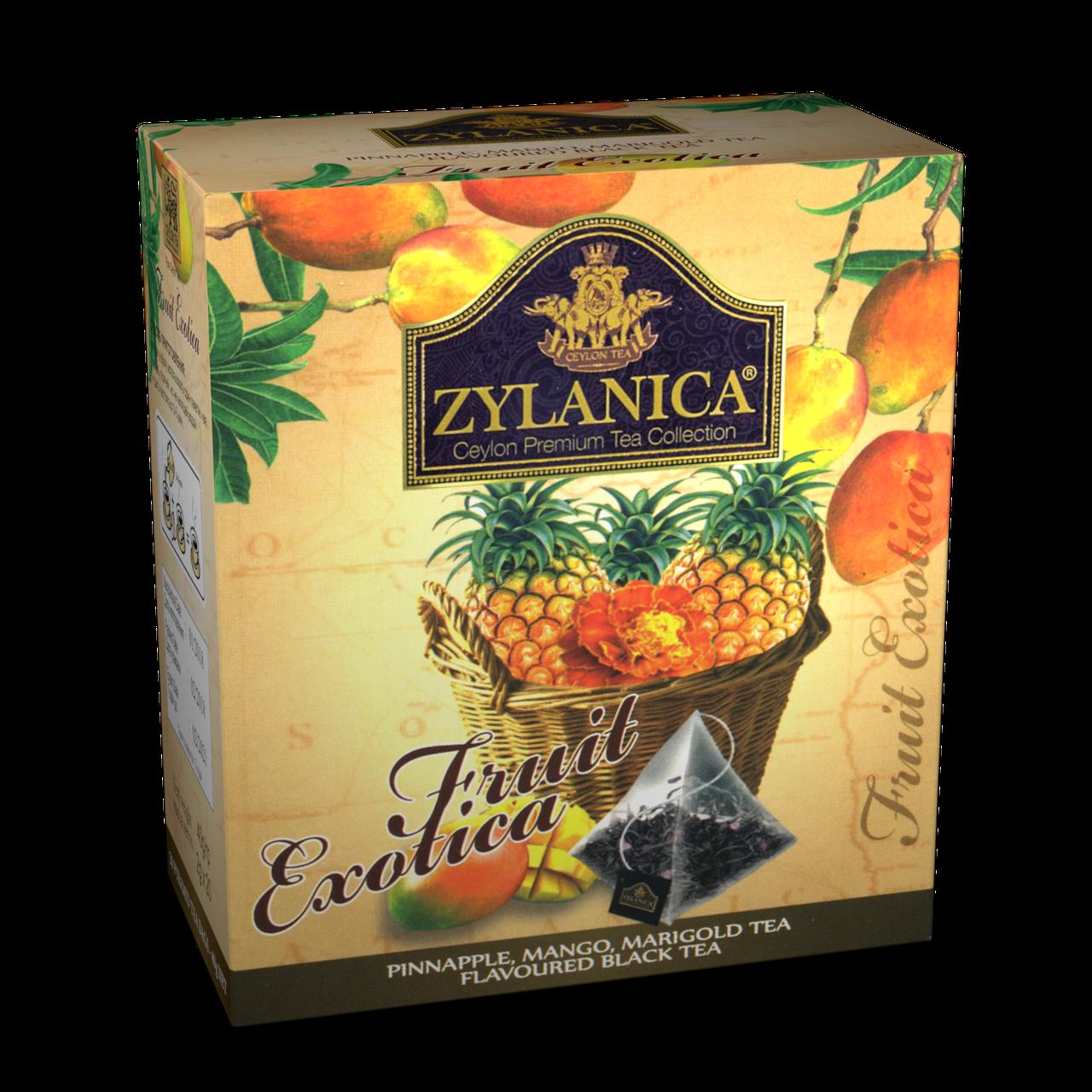 чай с манго и ананасом