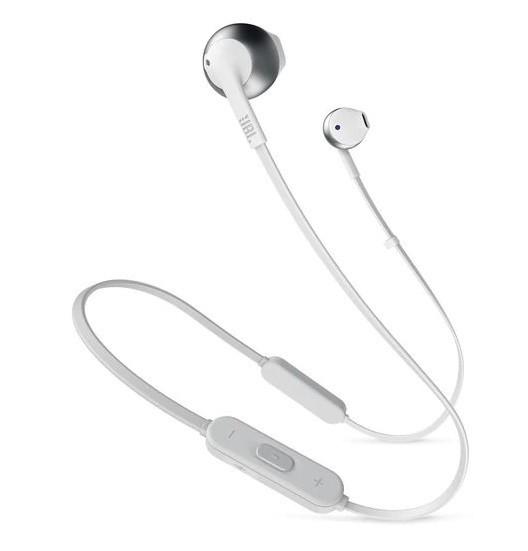 Bluetooth гарнитура JBL T205BT Silver (JBLT205BTSIL)