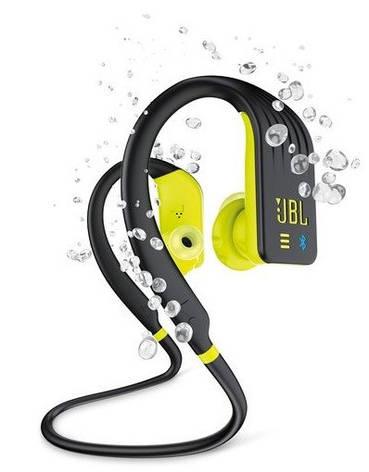 Bluetooth гарнитура JBL Endurance Dive Black/Yellow (JBLENDURDIVEBNL), фото 2