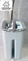 Швабра с ведром для отжима и полоскания Zambak