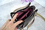 Сумка - тоут Чарльз и Кейт с двумя ручками женская черная, фото 7