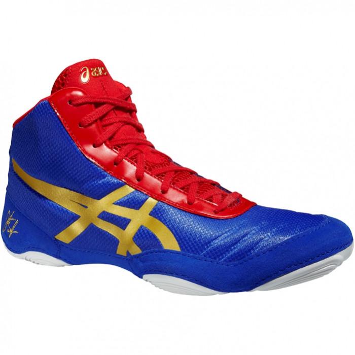 Боксерки, борцовки ASICS JB Elite V2.0. Обувь для борьбы Асикс. Обувь для бокса Asics.