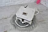 Сумка-рюкзак Компакт городская белая женская, фото 9