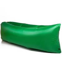 Ламзак надувной диван Lamzac гамак, шезлонг, матрас Двухслойный Зеленый (реальные фото)
