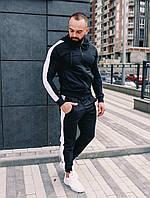 Костюм мужской спортивный спортивный костюм с лампасом