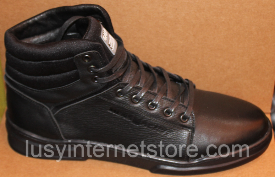 Ботинки осенние мужские кожаные от производителя модель ГЛ201-1