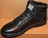 Ботинки осенние мужские кожаные от производителя модель ГЛ201-1, фото 3