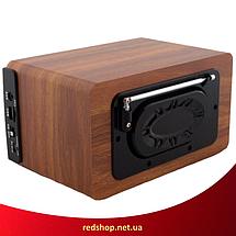 Портативна Bluetooth колонка акустична Atlanfa AT-1822ВТ - FM радіоприймач, 6W + USB Power Bank, фото 3