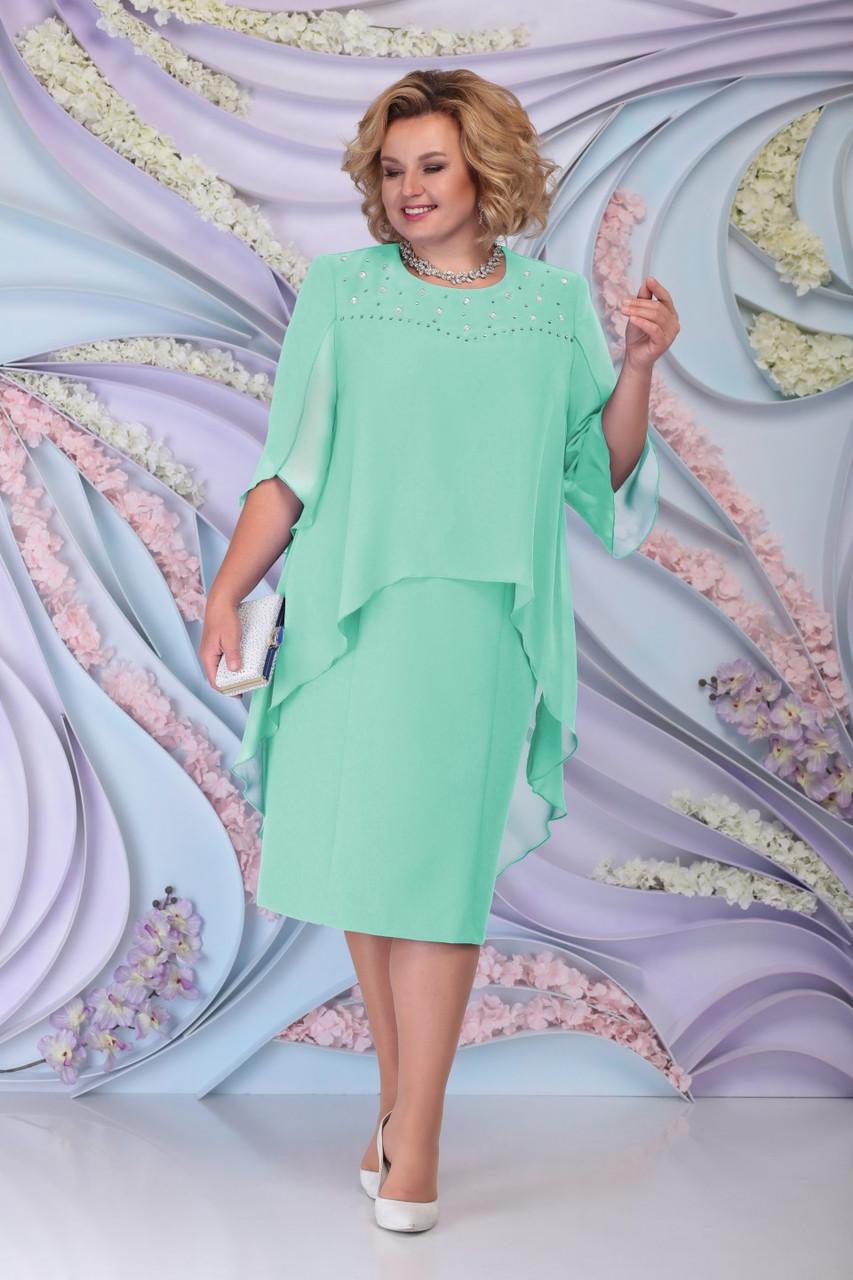 Платье женское Беларусь модель Н-7298-20 салатовый