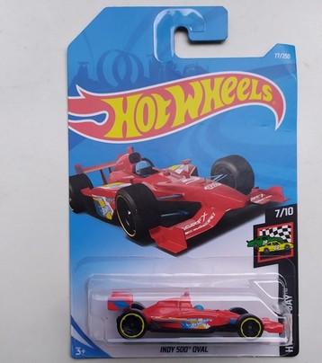 INDY 500 OVAL машина металл Hot Wheels оригинал Хот Вилс Mattel. pro