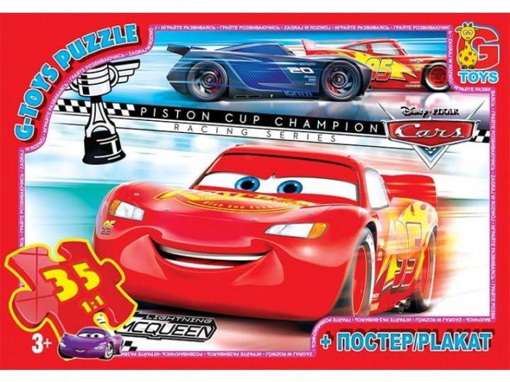 Пазли ТМ G-Toys із серії Тачки, 35 елементів Z10193