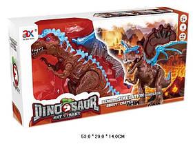 Животное 842A (12шт/2)динозавр с крыльями,батар.,свет,звук,в коробке 53*29*14см