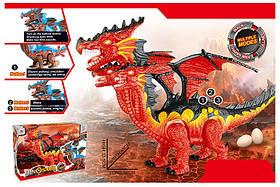 Животные 832A (12шт/2) динозавр, свет, звук, ходит, изделие 52*45*33,5 в коробке