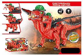 Животное 829A (20шт/2)динозавр трехглавый,батар.,свет,звук,в коробке 45*25*42см