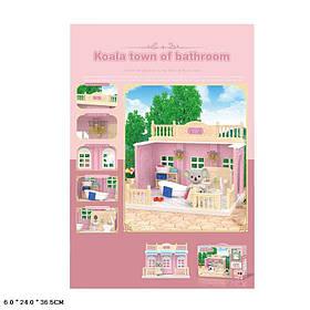 Животные флоксовые FDE8658 (36шт)ванная комната, фигурка в комплекте, в короб.36,5*24*6см