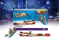 Трек инерц. HOT WHEELS Split Speeders 999-54 (30шт) 1машинка, в коробке 47*35*5см