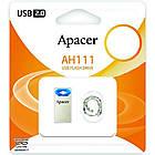 USB флеш накопитель Apacer 64GB AH111 Blue USB 2.0 (AP64GAH111U-1), фото 6