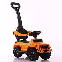 Детская машина толокар Jeep T-934 ORANGE
