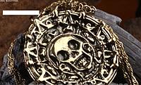Кулон-монета « Монета ацтеков» из фильма «Пираты Карибского моря», фото 1