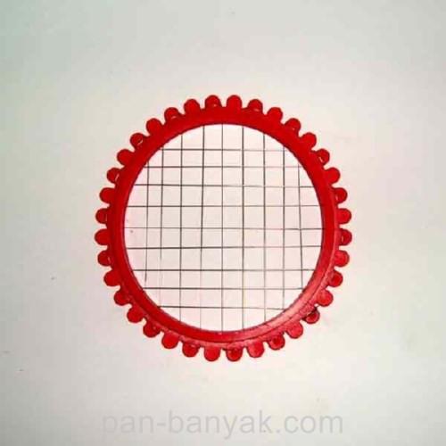 Яйцерезка d8 см пластик ()